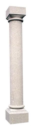 Colonne arredo urbano schenatti srl real stone covering for Colonne arredo