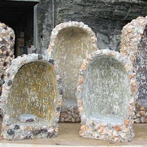 Grotte pietre per giardini schenatti srl real stone for Sassi per fioriere