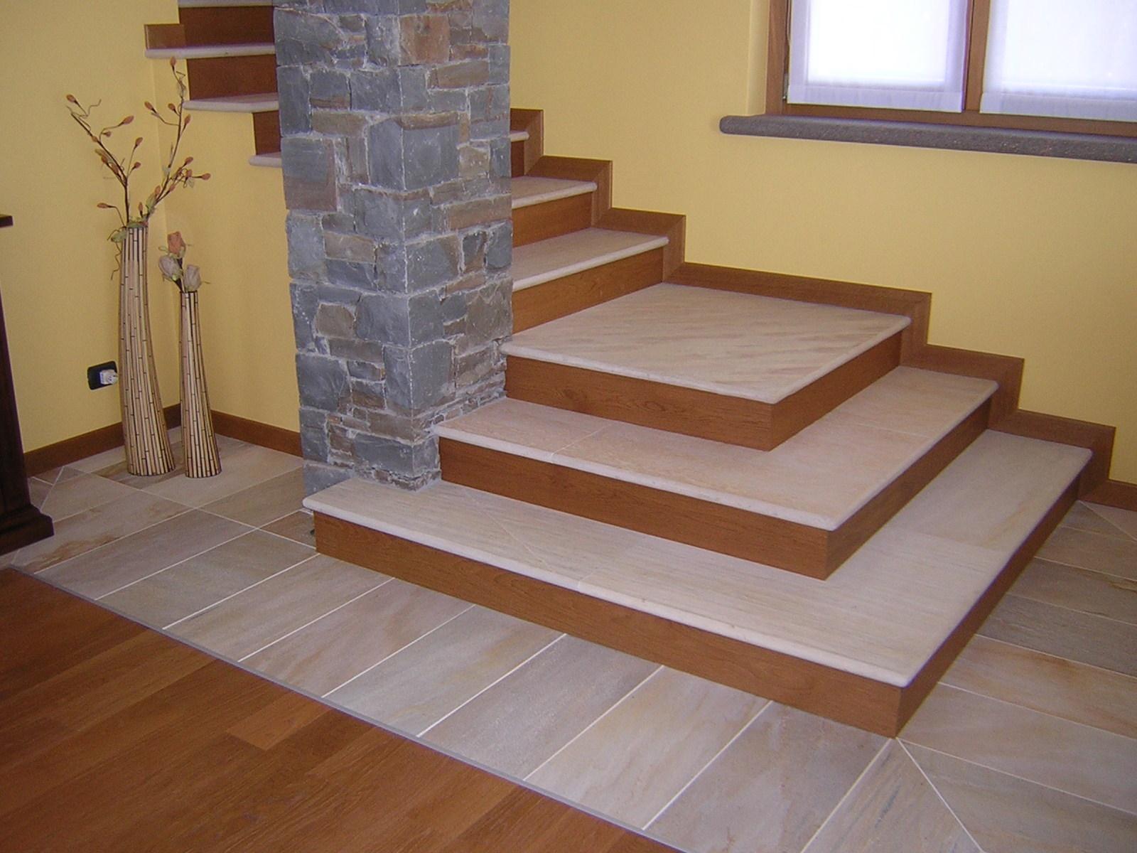 Pietra Grigia Per Davanzali scale - lavorati vari - schenatti srl - real stone covering