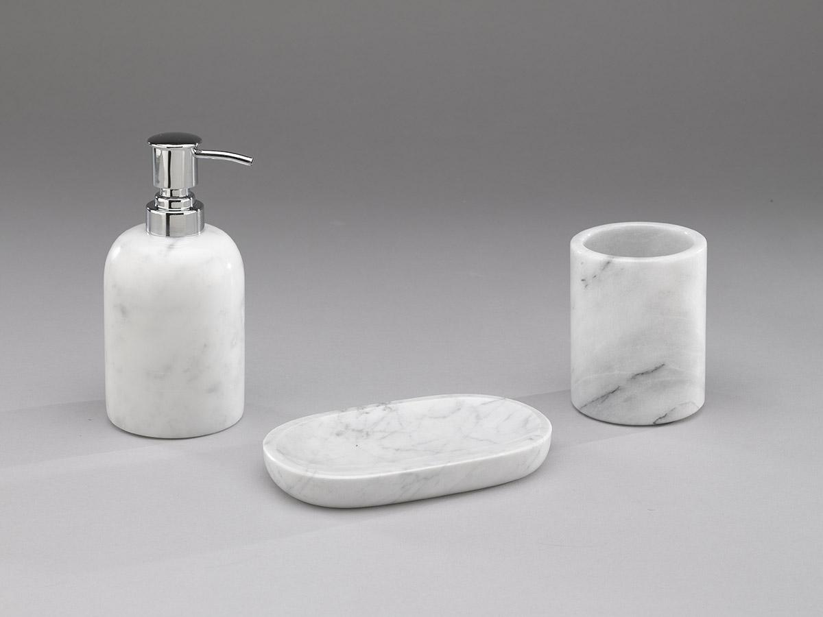Index schenatti srl real stone covering - Bagno in marmo bianco ...